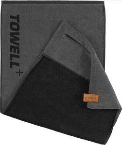 STRYVE Towell + V2 Sporthandtuch Platinum Grau mit Tasche und Magnetclip Die Höhle der Löwen
