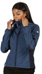 Regatta Arec II Softshell Jacke Damen dark denim/navy Größe UK 18   DE 44
