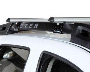 Alu Relingträger Aurilis Original kompatibel mit Dacia Duster mit Reling (5 Türer) 01/2014 - 12/2017