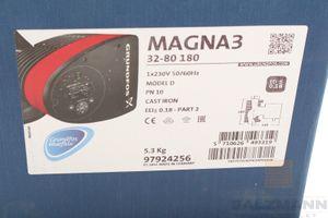 Grundfos Magna 3 Hocheffizienz-Umwälzpumpe 32-80 180 mm A.Nr.97924256 Neu