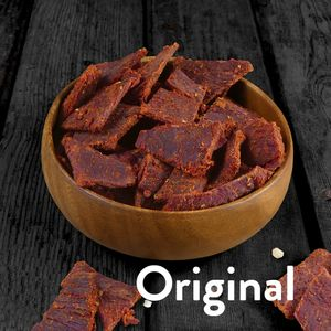 1kg Beef Jerky (8 x 125g) Original - 3Yo Nutrition - 51% Protein Biltong Trockenfleisch Fitnesssnack