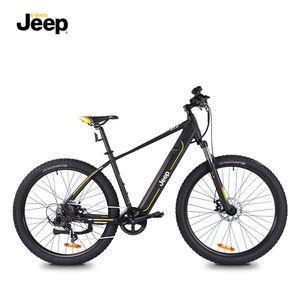 Jeep Mountain E-Bike MHR 7000. 27,5' Laufräder, Shimano Altus 8-Gang Kettenschaltung, black
