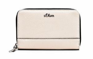 s.Oliver Zip Around Wallet Light Grey