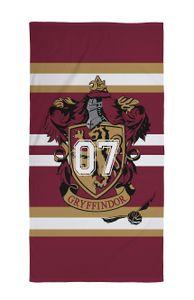 Harry Potter Strandtuch Strandlaken Badetuch 70 x 140cm Haus Gryffindor Wappen