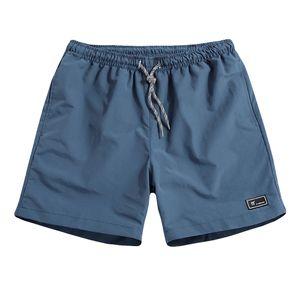 Herren Sommer Plus Size Dünne schnell trocknende Strandhose Casual Sports Short Pants Größe:XXXL,Farbe:Blau