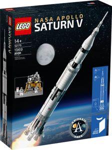 LEGO Ideas NASA Apollo Saturn V - 92176, Bausatz, Junge/Mädchen, 14 Jahr(e), 1969 Stück(e), 1,79 kg