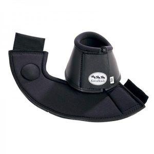KAVALKADE Neopren Hufglocken mit PVC Beschichtung, schwarz, XL