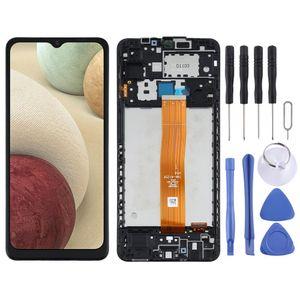 Für Samsung Galaxy A12 SM-A125F Display Full LCD Einheit Rahmen Touch Ersatzteil Reparatur Schwarz