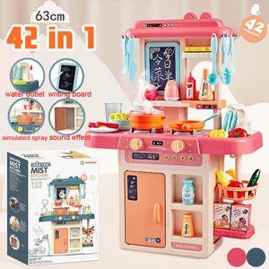 Kinderküche Mit Led+Sound Spielküche Küchenmaschine Zubehör Küchenutensilien SET