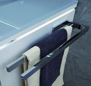 Puris Handtuchhalter / Handtuchstange / PZ11281 / Chrom glänzend / 39x3x11cm