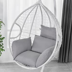 Hängesessel Sofa Stuhlkissen Durable Sofa Cushion Kissen Stuhlkissen -Grau