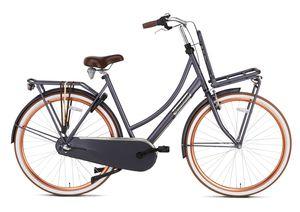 Popal Transportfahrräder Damen Daily Dutch Basic+ 28 Zoll 57 cm Damen 3G Rücktrittbremse Dunkelblau