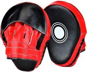 Pratzen Trainerpratzen Kickboxen Boxen Pratzen für Muay Thai Kickboxen Bewegung Karate Taekwondo Martial Arts - 1 Paar