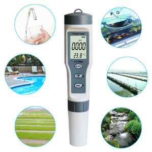 Digital er 3 In1 Test PH/TDS/TEMP Wasserqualitätsmonitor Reinheitstester für Aquarium PH Meter Tester Water Quality