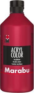 Marabu Acrylfarbe Acryl Color 500 ml karminrot 032