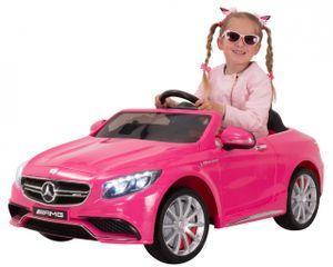 Kinder-Elektroauto Mercedes AMG S63 Lizenziert (Pink)