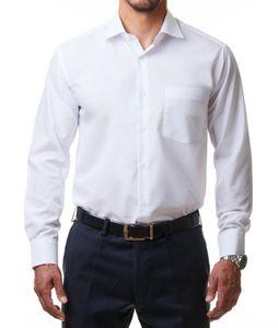 Alessandro Tonelli Herren Hemd Weiß, Größe:46/XXL