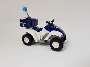 Playmobil 6504 Police Quad Polizei Cop Zubehör Ergänzung 6504