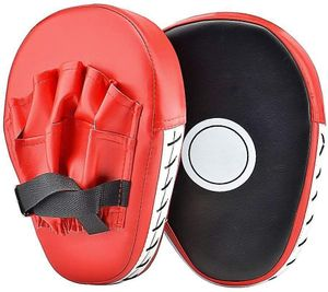 1 Paar PolyurethanHandpratzen Pratze Boxen Boxing Kickboxen Pads vorgekrümmt  Muay Thai Taekwondo Handschlagpolster