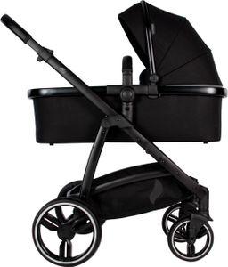 Osann Olé Kinderwagen - 3 in 1 Kombi-Kinderwagen Sportwagen Babywanne - Black