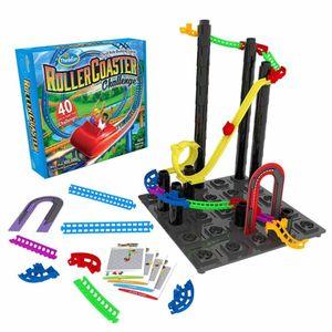 Thinkfun Logikspiel Achterbahn-Bausatz Roller Coaster Challenge 541046