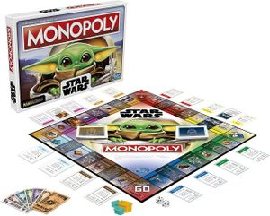 Monopoly Star Wars The Mandalorian The Child Edition Board Game Mono Poly