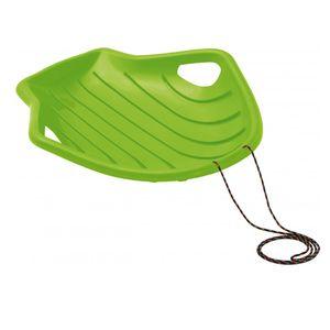 Prosperplast Schnell Snow Glider Schlitten Shell Big M Rutscher Schneerutscher für Kinder grün