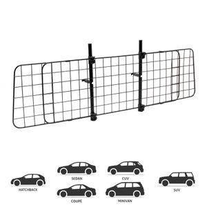 Hundegitter Auto 87-135cm Schutzgitter Kofferraumgitter Trenngitter Gepäckgitter