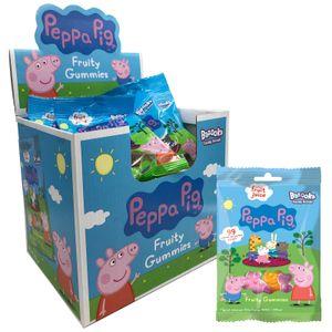 Peppa Pig Fruchtgummi Mixed Fruity Ganzer Display-Karton 24x 45g