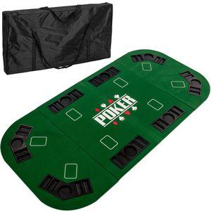 GamesPlanet® Pokerauflage 160x80cm, grün