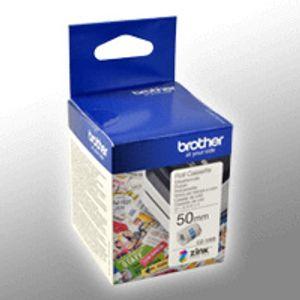 Brother Farbetikettenrolle CZ-1005 BxL 50mm x 5m Selbstklebend