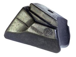 Rollerblade Inliner Bremsgummi Stopper 1 Stück schwarz