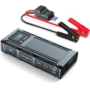 12V 18000mAh Auto KFZ Starthilfe Jump Starter Auoto Ladegerät Booster Powerbank Autobatteries