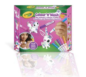 CRAYOLA Color'N'Wash Fürze - My Coloring Animals - Kit 1