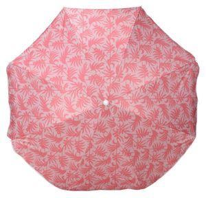 Sonnenschirm UV Schutz 50+ Strandschirm Balkonschirm Schirm knickbar Ø 160 cm Koralle