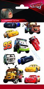 Disney kinder-Tattoos Cars junior Papier 12 Stück