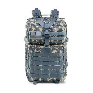 Großer Bundeswehr Rucksack 45l in AT-Digital, Militär Kampfrucksack, Molle Army 3-DayPack, US Assault Pack, BW Armee Outdoor Tasche