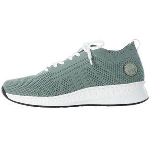 Rieker Damen-Sneaker-Schnürhalbschuh Mint, Farbe:grün, EU Größe:40