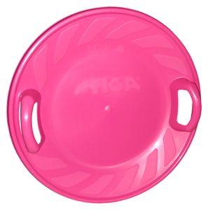 Snow Twister 60cm Tellerschlitten Rutschteller Rodelteller Kinderschlitten, Farbe:pink