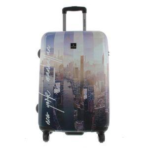 Saxoline Koffer Spinner mit Zahlenschloss Gr.M New York-Manhatten