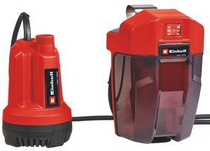 Einhell Power X-Change Akku-Klarwasserpumpe GE-SP 18 Li - Solo