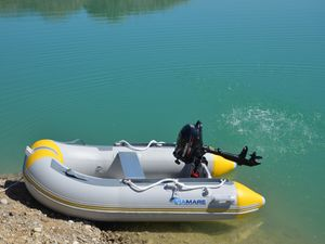 VIAMARE Schlauchboot 230 S Slat