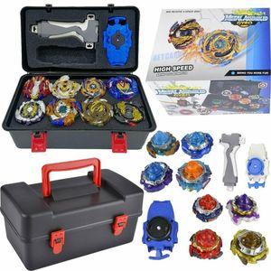 Beyblade Burst Set Metall Bayblade Top Kreisel Spielzeug mit Launcher für kinder mit Aufbewahrungsbox aus Kunststoff