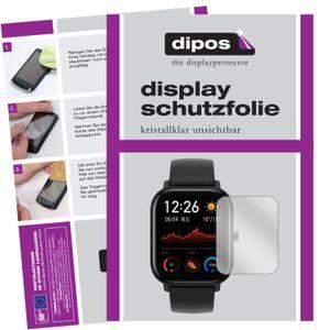 6x Huami Amazfit GTS Schutzfolie klar Displayschutzfolie Folie Display Schutz