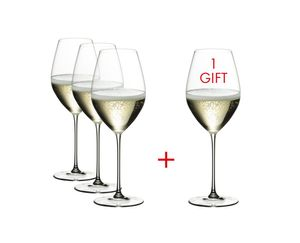 Riedel RIEDEL VERITAS PAY 3 GET 4 CHAMPAGNE WINE GLASS 5449/28, 6449/28 x 2