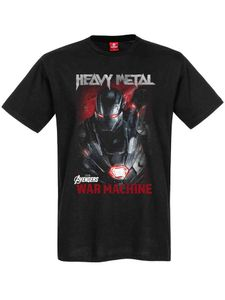 T-Shirt MARVEL Avengers Iron Man -  Heavy Metal, Größe:S