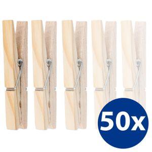 50 umweltfreundliche Wäscheklammern aus Holz Holzklammern auch zum Basteln und Dekorieren