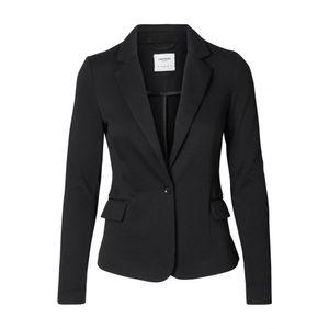 Vero Moda Damen Blazer VMJulia LS Jacke 10154123, Farbe:Schwarz, Größe:34