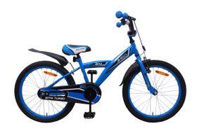Amigo BMX Turbo - Kinderfahrrad für Jungen - Jungenfahrrad 20 zoll - Kinderfahrader ab 5-8 Jahre - Blau