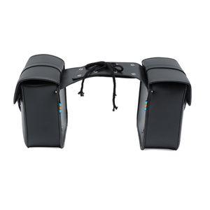 2x Universal Motorrad Satteltasche Seiten Gepäcktasche Werkzeugtasche